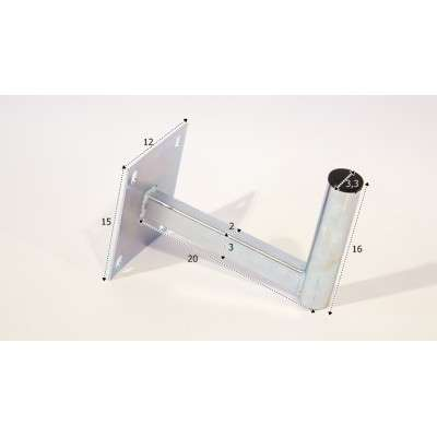 Econ Wall Mount 20 cm SLIM E-311
