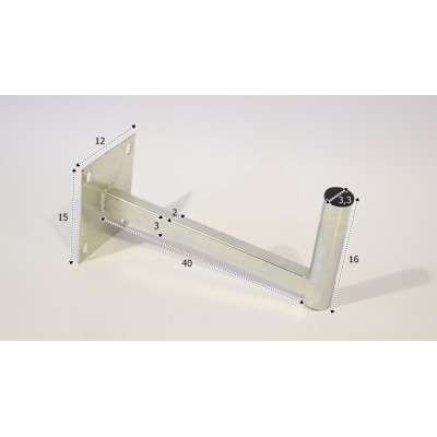 Econ Wall Mount 40 cm SLIM E-312