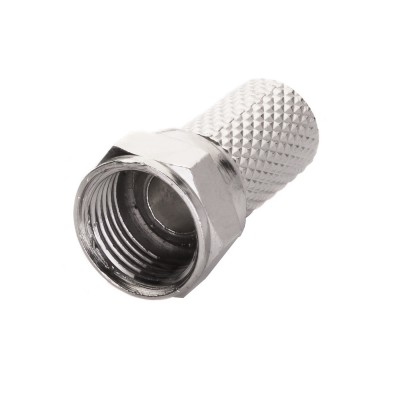 Econ F-connector 6,5mm TWIST E-001